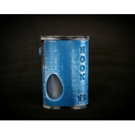 HOOK V3 - Double Hole BF - Distressed Blue.