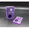 ASGAR 18650 DISTRESSED  VIOLET AND FULL ENGRAVED. Full silver.