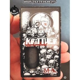 KRITTHER 21700- FULL ENGRAVED -KRITTH KOMIC